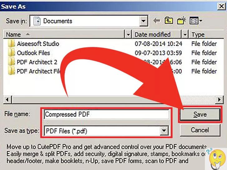 Как сделать pdf файл меньше