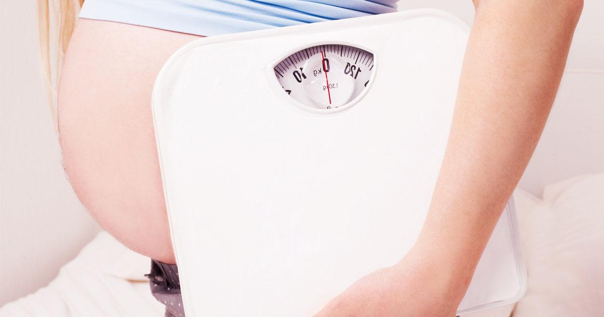 Как беременные набирают вес 59