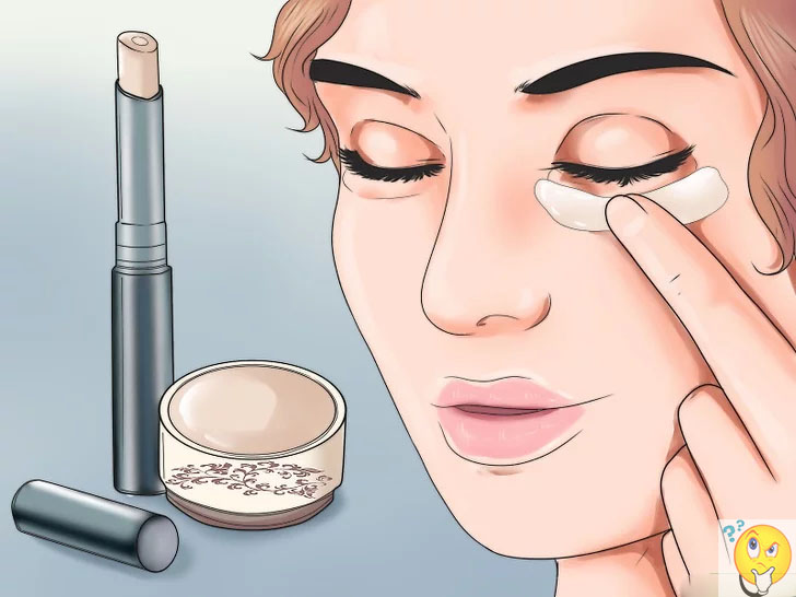 Makeup for eye bags