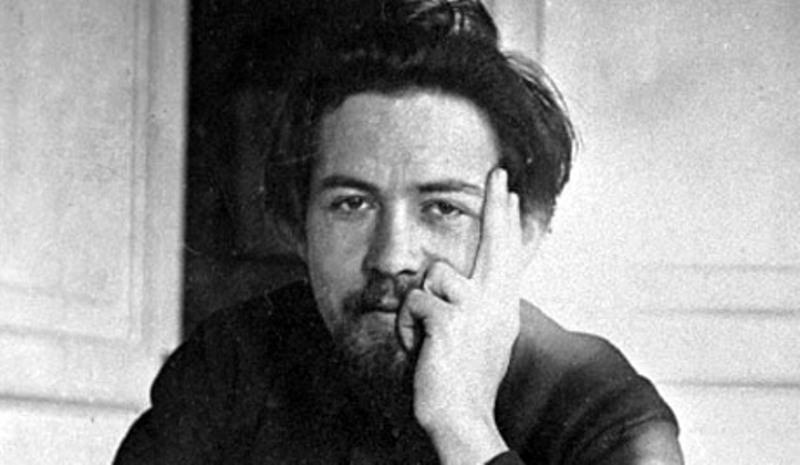 Писатель Антон Павлович Чехов.